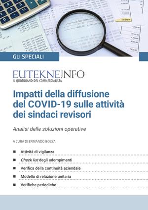 Impatti della diffusione del COVID-19 sulle attivitа dei sindaci revisori
