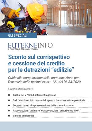 """Sconto sul corrispettivo e cessione del credito per le detrazioni """"edilizie"""""""
