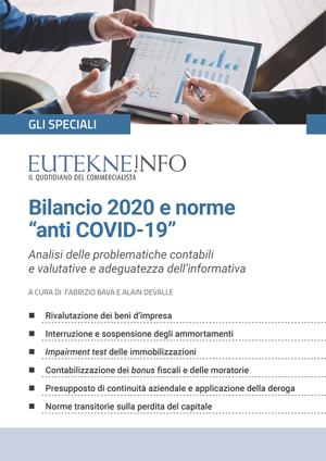 """Bilancio 2020 e norme """"anti COVID-19"""""""